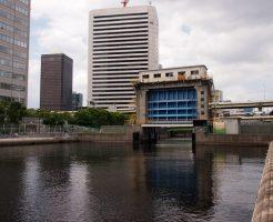 東京湾奥シーバスポイント 芝浦運河 東芝ビル前