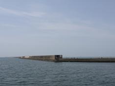 加古川シーバスポイント尾上漁港(加古川尻) カタクチイワシの接岸で簡単にシーバスが釣れる!
