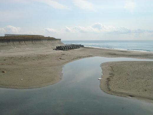 静岡マゴチおすすめ釣り場 静岡県御前崎市 中西川河口