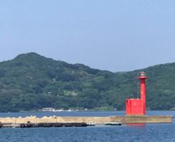 長崎エギングポイント薄香港 梅崎神社前堤防