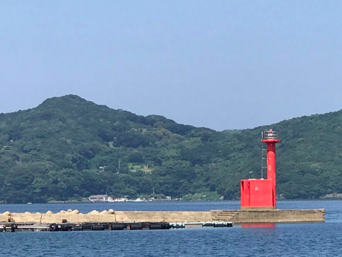 長崎エギングおすすめポイント 薄香港 梅崎神社前堤防