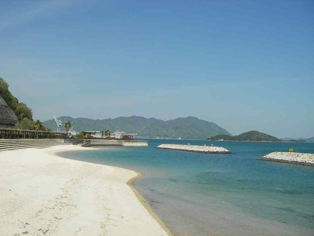 広島キジハタおすすめポイント!三原市 須波海水浴場の護岸 高級根魚のキジハタが岸から狙えるポイント!