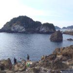 千葉カンパチおかっぱりポイント 千葉県鴨川市 弁天島と灯台島