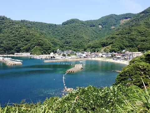 福井 アオリイカ エギングポイント 小浜市 世久見漁港 新子の数釣りが楽しめる小浜の漁港!