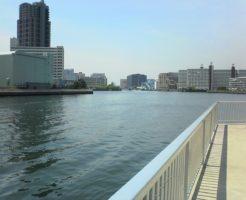 豊洲運河 潮見運動公園