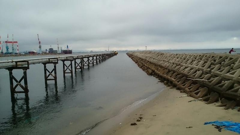 三重シーバス釣りポイント 三重県津市 日本鋼管突堤