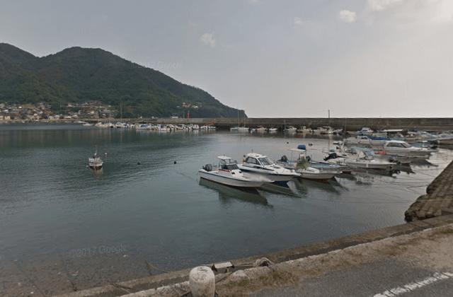 広島メバル釣りポイント 広島県福山市 横島漁港の大波止