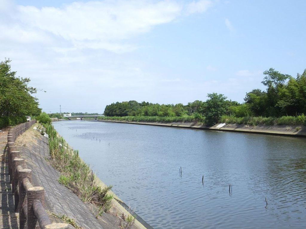 千葉県イシモチポイント 白子町 南白亀川河口