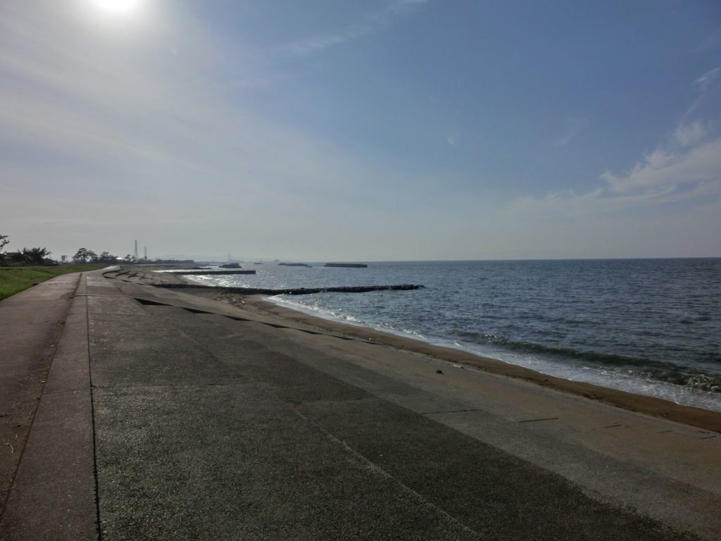 富山エギングポイント 射水市 海老江海浜公園