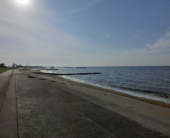 富山県アオリイカポイント 射水市 海老江海浜公園