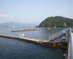 福井県シーバスポイント 三方郡美浜町早瀬 久々子湖 早瀬漁港