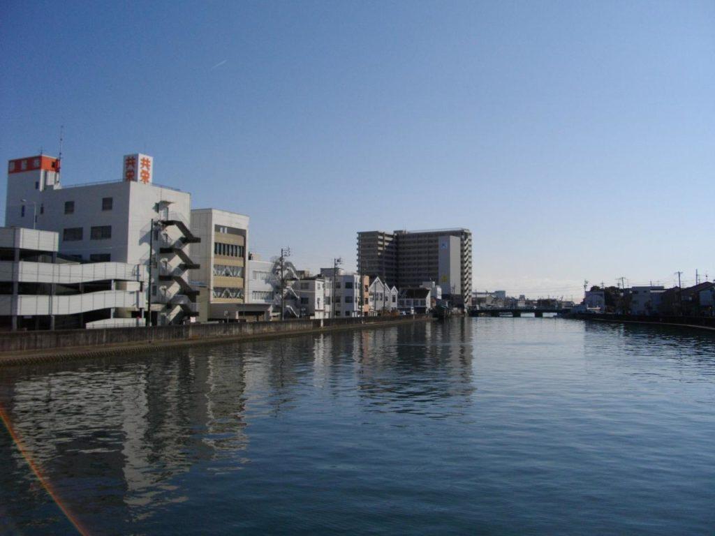 静岡チニングポイント 清水市 清水港 巴川河口