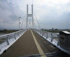福井県シーバスポイント 福井市 九頭竜川 中角歩道橋