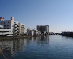 静岡県チヌ、キビレポイント 清水市 清水港 巴川河口