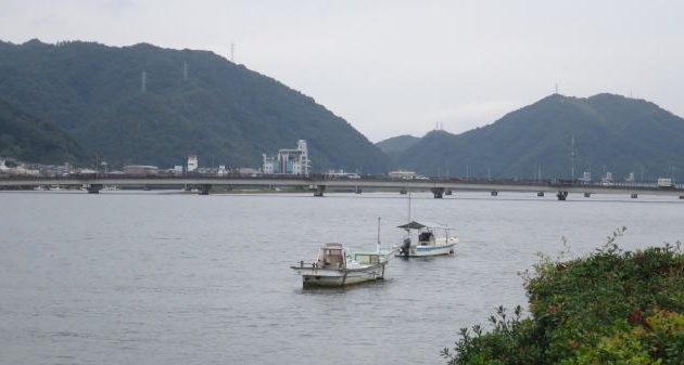 広島シーバスポイント 三原市 沼田川定屋大橋