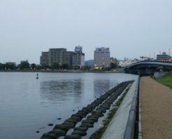 島根県シーバスポイント 松江市灘町 白潟公園