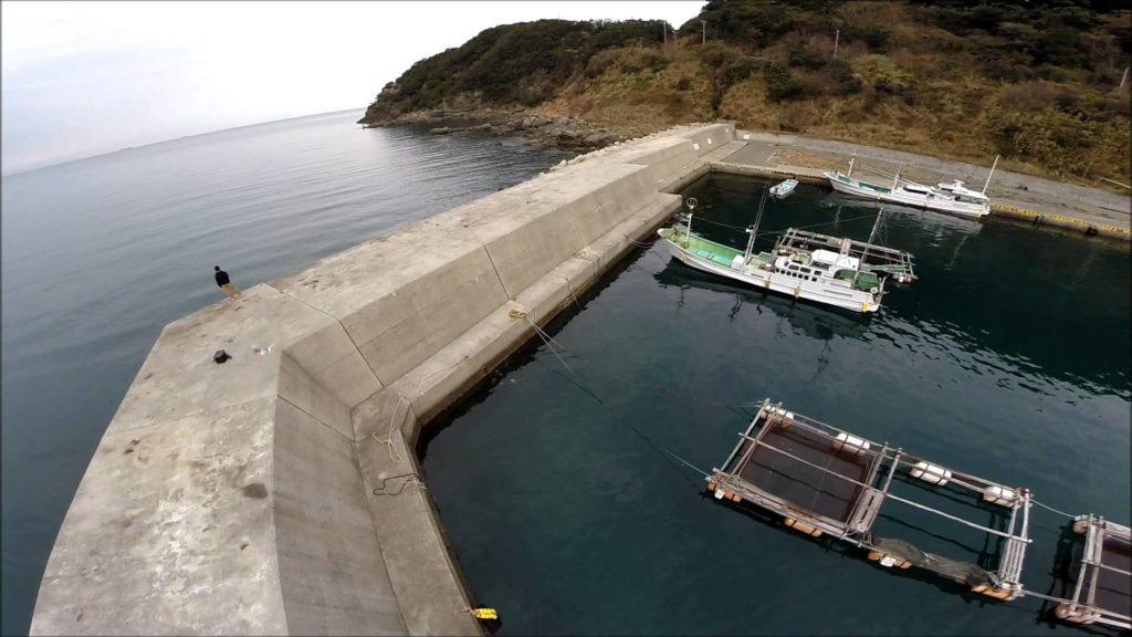 和歌山エギングポイント 和歌山県日高町 方杭漁港