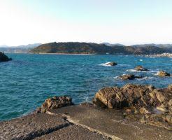 和歌山県アオリイカポイント 東牟婁郡串本町 須賀の浜漁港