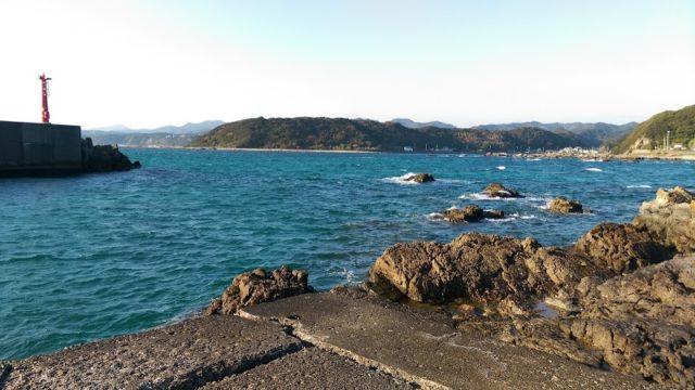 和歌山エギングポイント 和歌山県東牟婁郡串本町 須賀の浜漁港