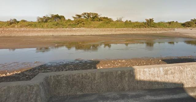 長崎シーバスポイント 長崎県島原市 大手川河口サーフ