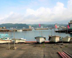 千葉県勝浦市アジングポイント 川津漁港