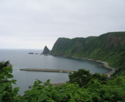 北海道サクラマスポイント 積丹郡 幌武意漁港