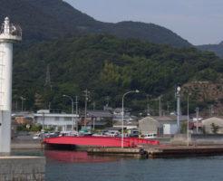 広島県アジポイント 豊田郡大崎上島 明石漁港周辺