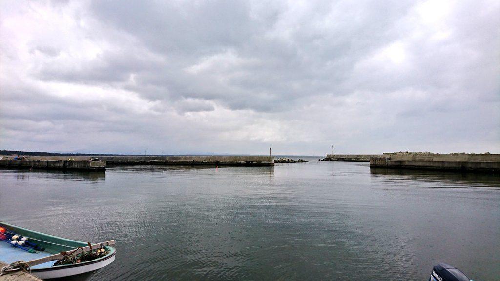秋田シーバスポイント 男鹿市 脇本漁港