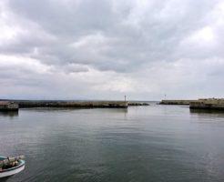 秋田県シーバスポイント 男鹿市 脇本漁港