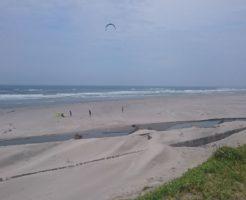 静岡県のヒラメポイント 静岡県掛川市 浜野海岸