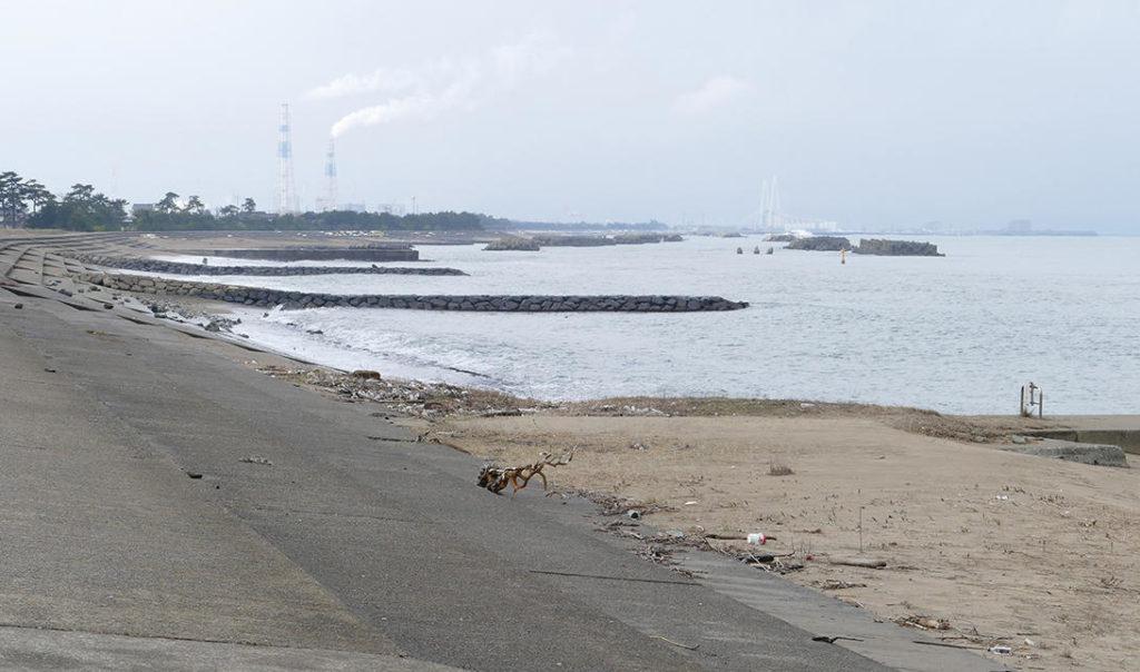 富山メバリングポイント 富山市 四方 打出海岸
