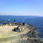 神奈川シーバスポイント 神奈川県横須賀市 観音崎灯台下磯