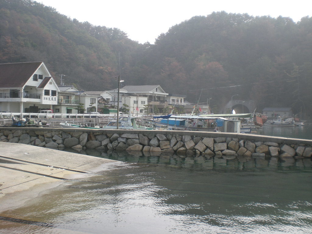 広島 太刀魚ポイント 呉市下蒲刈町 大地蔵