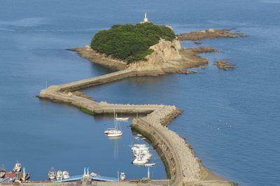 広島エギングポイント 福山市内海町 内海地蔵鼻先の防波堤