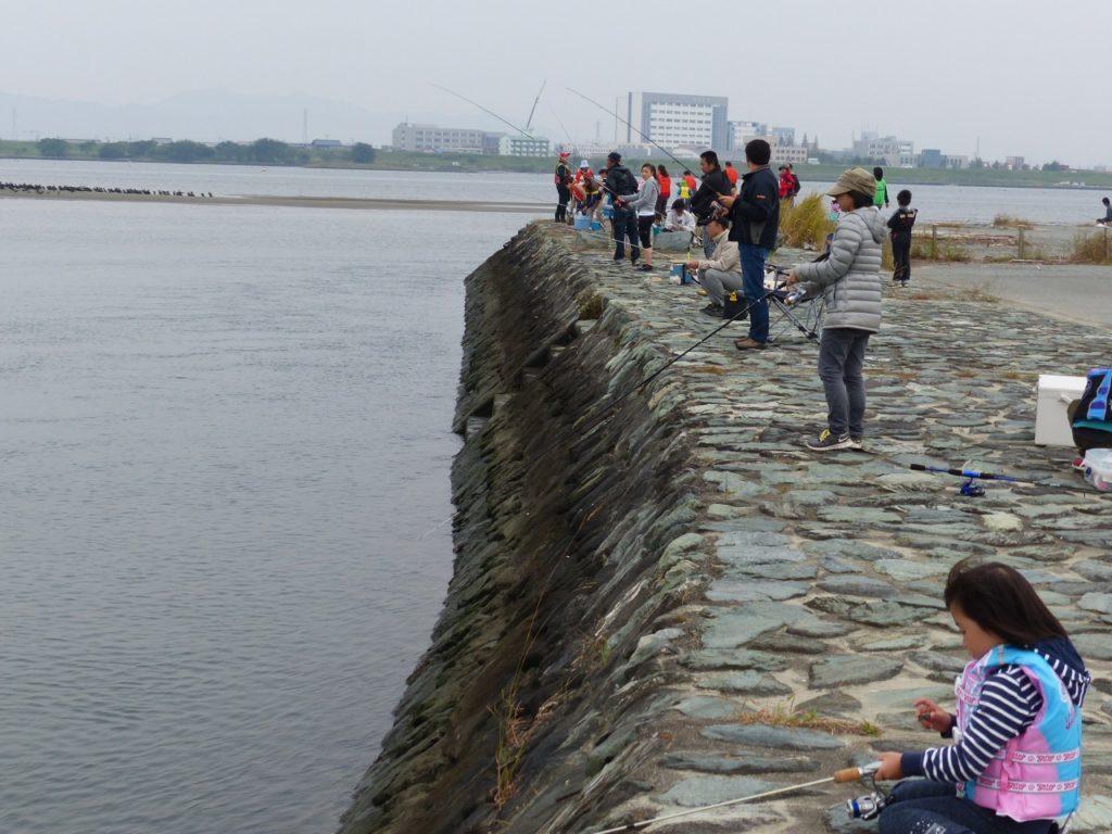徳島チニングポイント 徳島市上助任町 吉野川河口付近