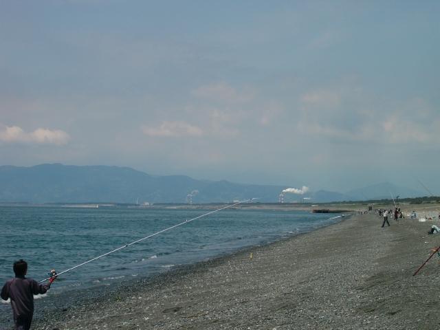 静岡ショアジギングポイント 静岡県沼津市 原海岸サーフ