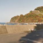 福井アオリイカポイント 福井県小浜市 塩坂越漁港消波ブロック上