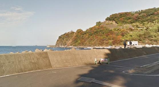 福井アオリイカポイント 小浜市 塩坂越漁港消波ブロック上