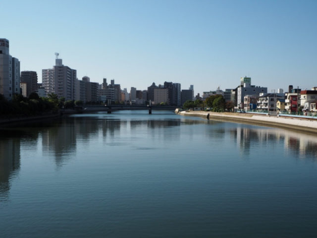 広島チニングポイント 広島県広島市中区 天満川 緑大橋下流