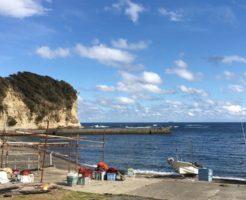 千葉アオリイカポイント 千葉県勝浦市 吉尾漁港