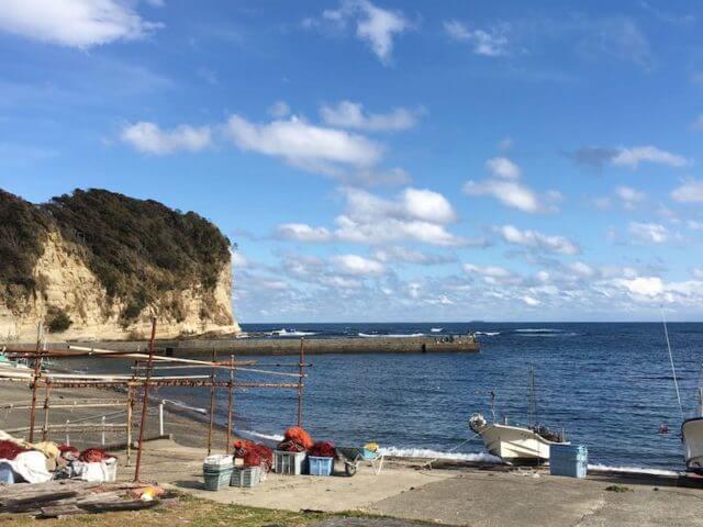 千葉エギングポイント 千葉県勝浦市 吉尾漁港