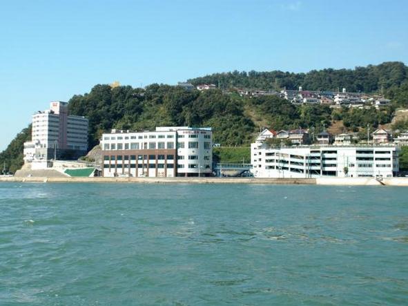 広島キジハタポイント 三原市 みはらし温泉前の石積み
