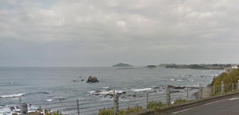 鹿児島県ヒラスズキポイント 阿久根市 薩摩大川付近の磯場