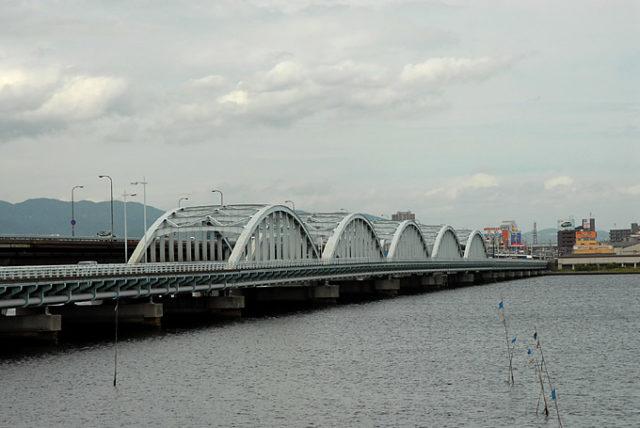大阪チヌポイント 大阪府大阪市 淀川河口伝法大橋付近