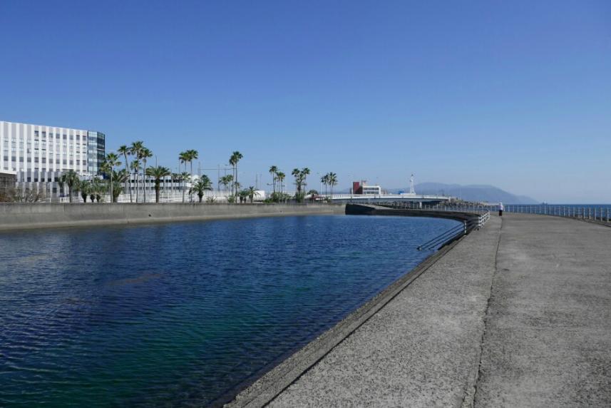 鹿児島エギングポイント 鹿児島市 与次郎水路