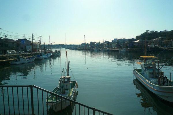 神奈川エギングポイント 三浦市 三崎港