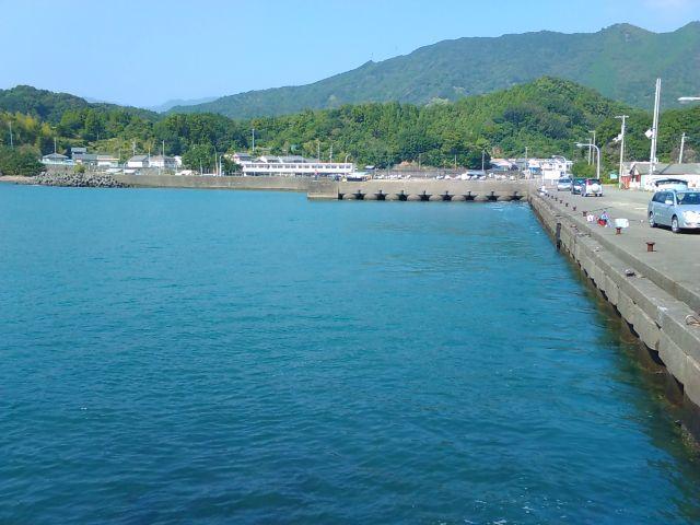 徳島アオリイカポイント 徳島県海部郡牟岐町 古牟岐の漁港