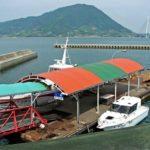 愛媛メバル釣りポイント 愛媛県大三島 井口港