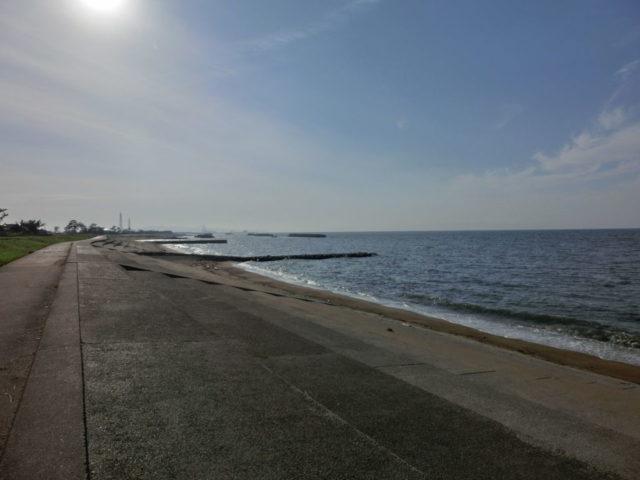 富山クロダイポイント 富山県射水市 海老江海浜公園堤防