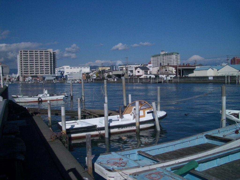 静岡カマス釣りポイント 静岡県磐田市 清水港